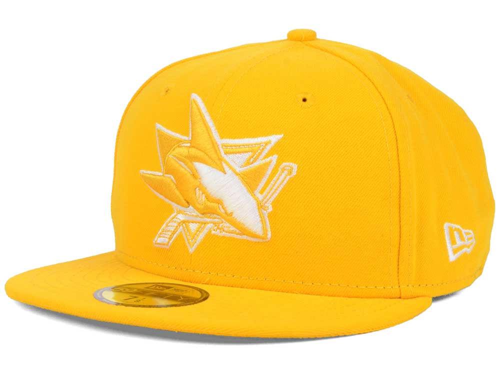 San Jose Sharks New Era NHL C-Dub 59FIFTY Cap  c5b9eb31140b