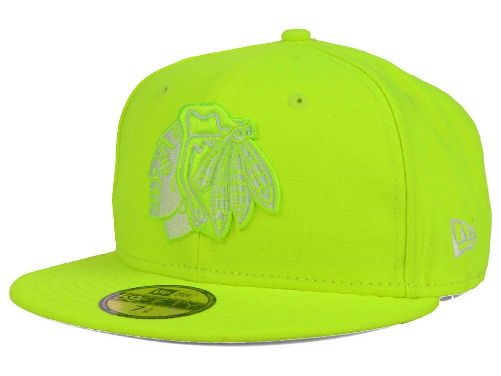02f08c39714 Chicago Blackhawks New Era NHL C-Dub 59FIFTY Cap