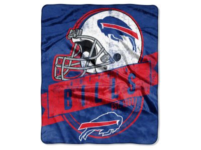"Buffalo Bills 50x60in Plush Throw Blanket ""Grand Stand"""