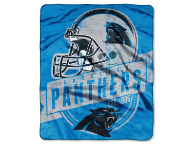 "Carolina Panthers 50x60in Plush Throw Blanket ""Grand Stand"""