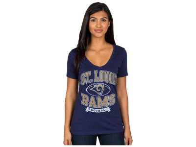 St. Louis Rams Authentic NFL Apparel NFL Women's Football Logo T-Shirt