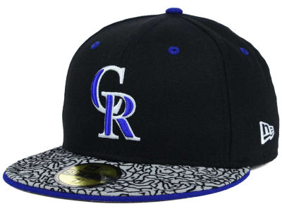 Colorado Rockies New Era MLB August Hookups 59FIFTY Cap