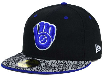 Milwaukee Brewers New Era MLB August Hookups 59FIFTY Cap