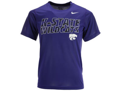 Kansas State Wildcats NCAA Youth Slant Just Do It T-Shirt