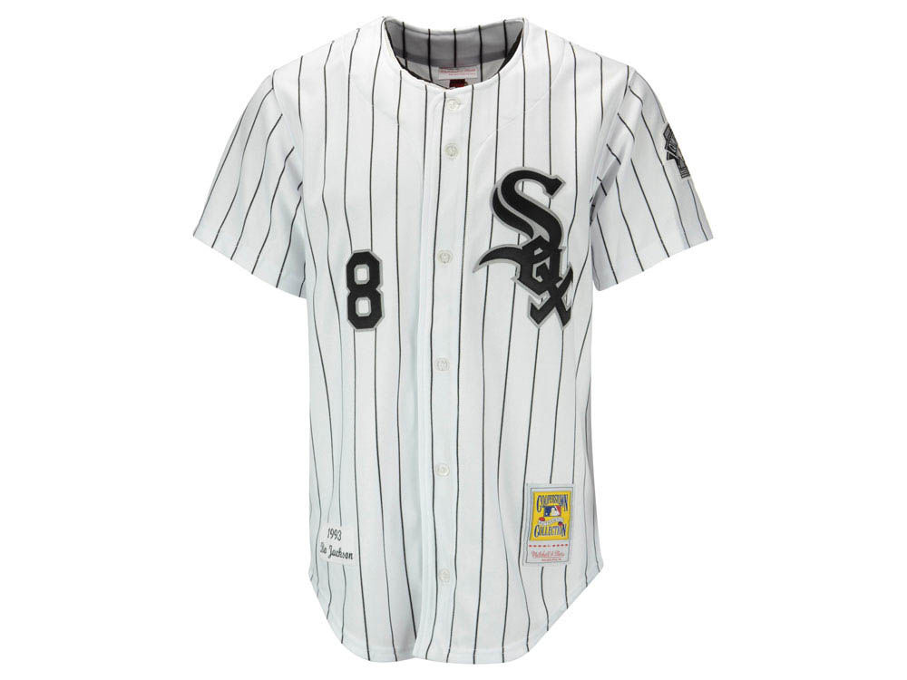 Chicago White Sox Bo Jackson Mitchell   Ness MLB Men s Authentic Jersey  85516767d