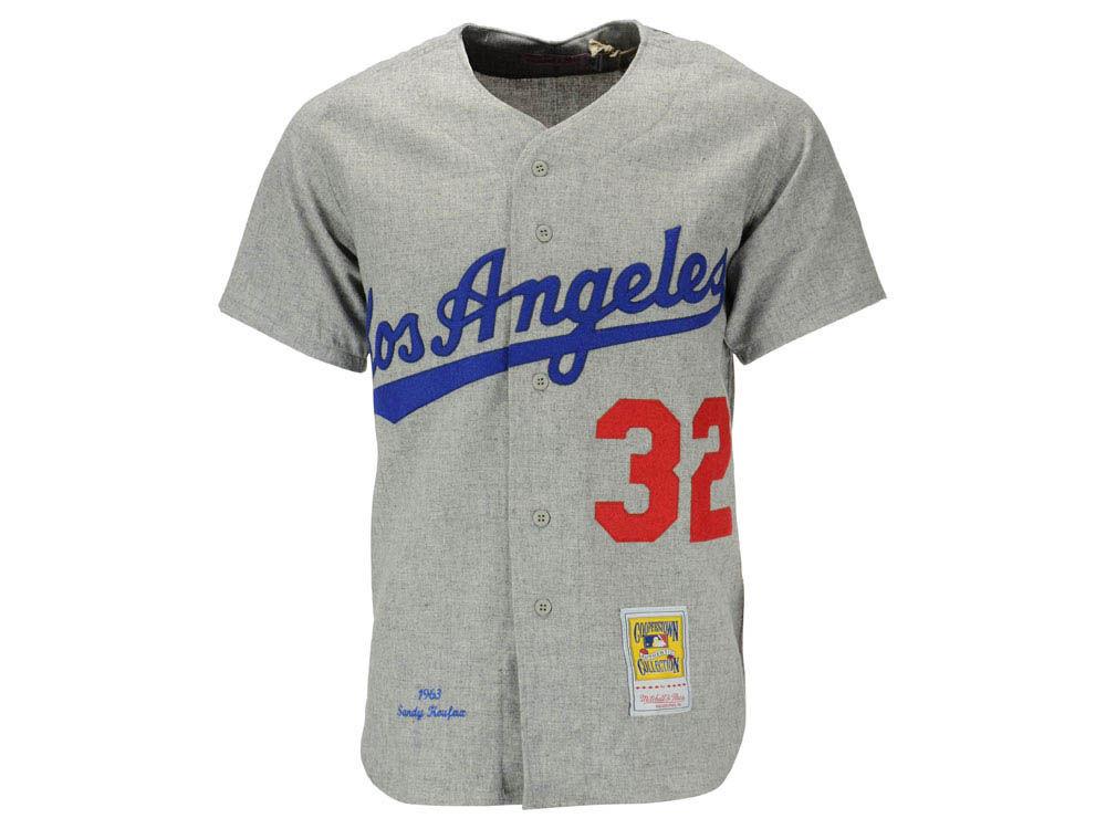 4cf2cfa3328 Los Angeles Dodgers Sandy Koufax Mitchell   Ness MLB Men s Authentic Jersey