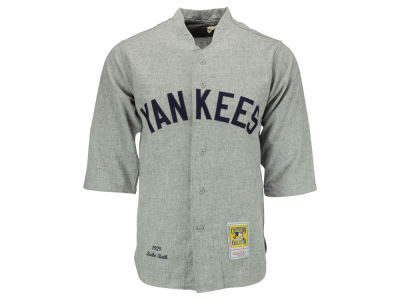 New York Yankees Babe Ruth Mitchell and Ness MLB Men's Authentic Jersey