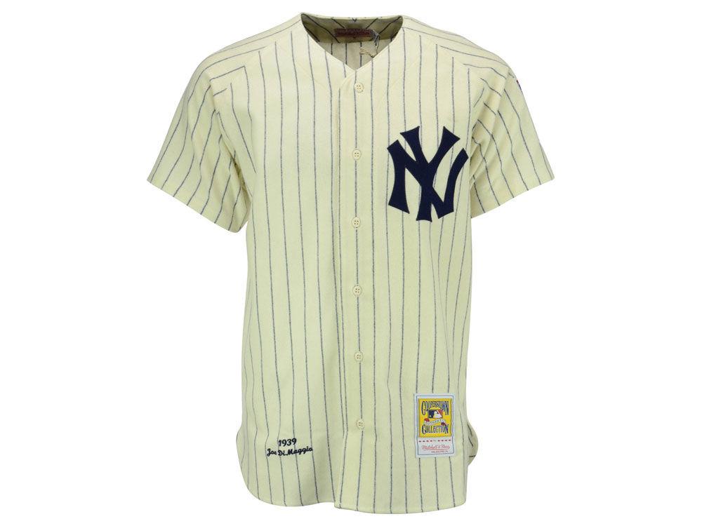 New York Yankees Joe DiMaggio Mitchell   Ness MLB Men s Authentic Jersey  e0e2dd7e2ee