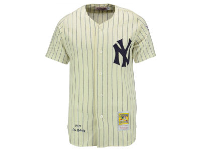 New York Yankees Lou Gehrig Mitchell and Ness MLB Men's Authentic Jersey