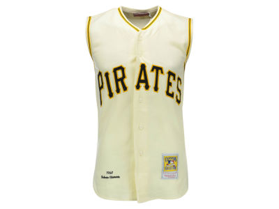 Pittsburgh Pirates Roberto Clemente Mitchell and Ness MLB Men's Authentic Jersey