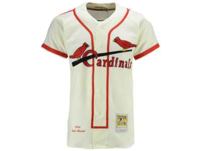 St. Louis Cardinals Stan Musial Mitchell & Ness MLB Men's Authentic Jersey