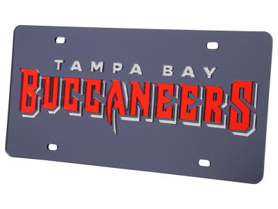 Tampa Bay Buccaneers Acrylic Laser Tag