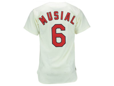 St. Louis Cardinals Stan Musial Mitchell and Ness MLB Men's Authentic Jersey