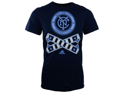 New York City FC adidas MLS Crossed Up T-Shirt