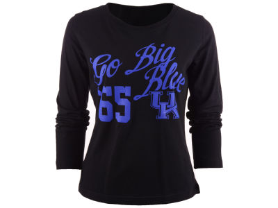 Kentucky Wildcats NCAA Womens Flow Missy Fit Long Sleeve T-Shirt