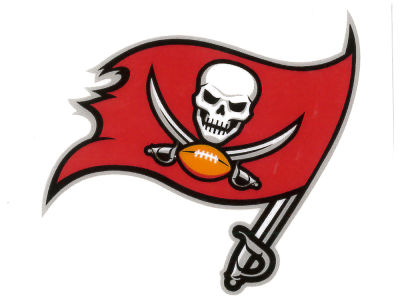 Tampa Bay Buccaneers Static Cling Decal
