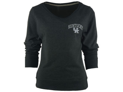 Kentucky Wildcats NCAA Women's Arial Fleece Crew Sweatshirt
