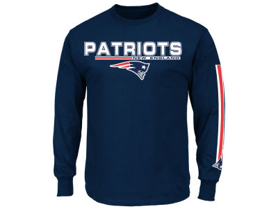 New England Patriots NFL Men's Primary Receiver Long Sleeve T-Shirt