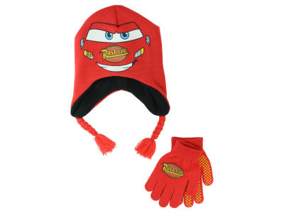 Disney  Cars 2014 Toddler Peruvian Knit and Gloves Set