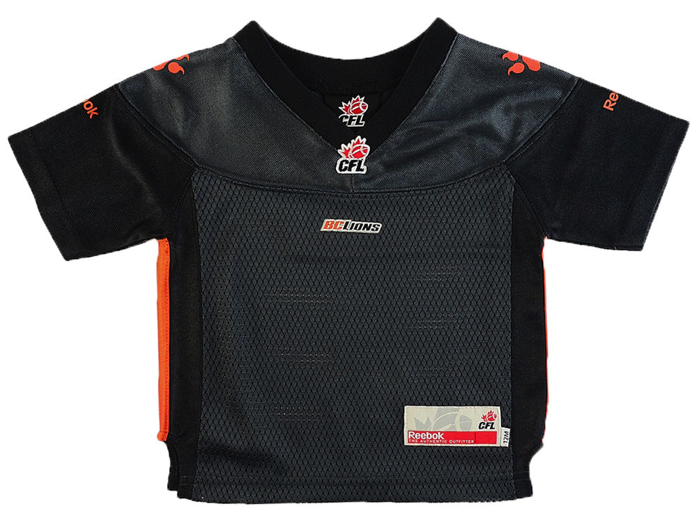 BC Lions Reebok CFL Infant Replica Alternate Jersey  808a11905