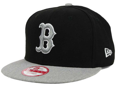 Boston Red Sox New Era MLB H-Black 9FIFTY Snapback Cap