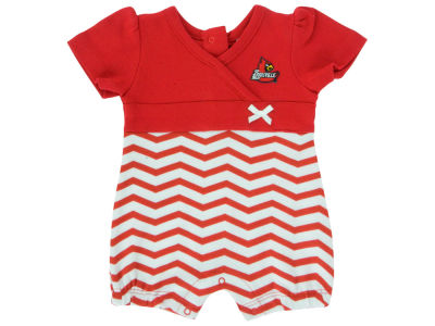 Louisville Cardinals NCAA Newborn Chevron Romper
