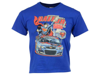 Dale Earnhardt Jr. Youth Super Man Car T-Shirt