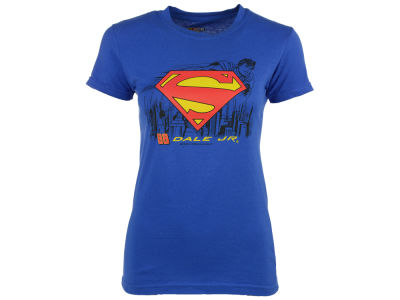 Dale Earnhardt Jr. Women's Super Man Logo T-Shirt