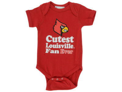 Louisville Cardinals Atlanta Hosiery NCAA Infant Cutest Ever Creeper