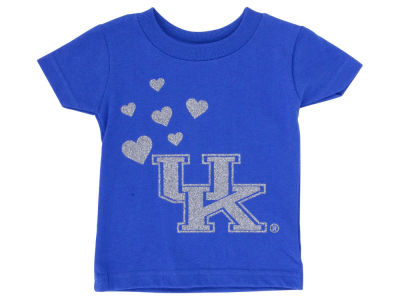 Kentucky Wildcats NCAA Newborn Glitter Wordmark T-Shirt