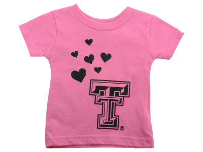 Texas Tech Red Raiders NCAA Infant Glitter T-Shirt