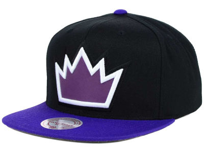 Sacramento Kings Mitchell and Ness NBA Team Color Reflective Snapback Hat