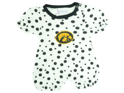 Iowa Hawkeyes NCAA Infant Polka Dot Romper