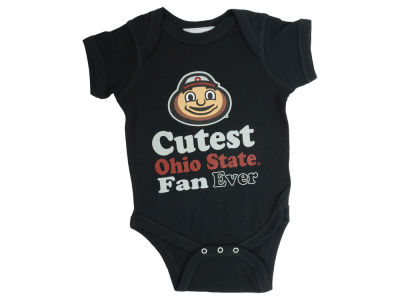 Ohio State Buckeyes NCAA Infant Cutest Ever Creeper