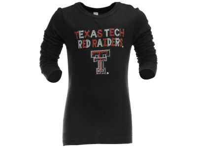 Texas Tech Red Raiders NCAA Youth Girl Stud Long Sleeve T-Shirt
