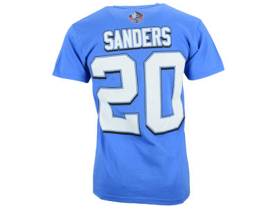 Detroit Lions Barry Sanders NFL Men's Hall Of Fame Eligible Receiver II T-Shirt