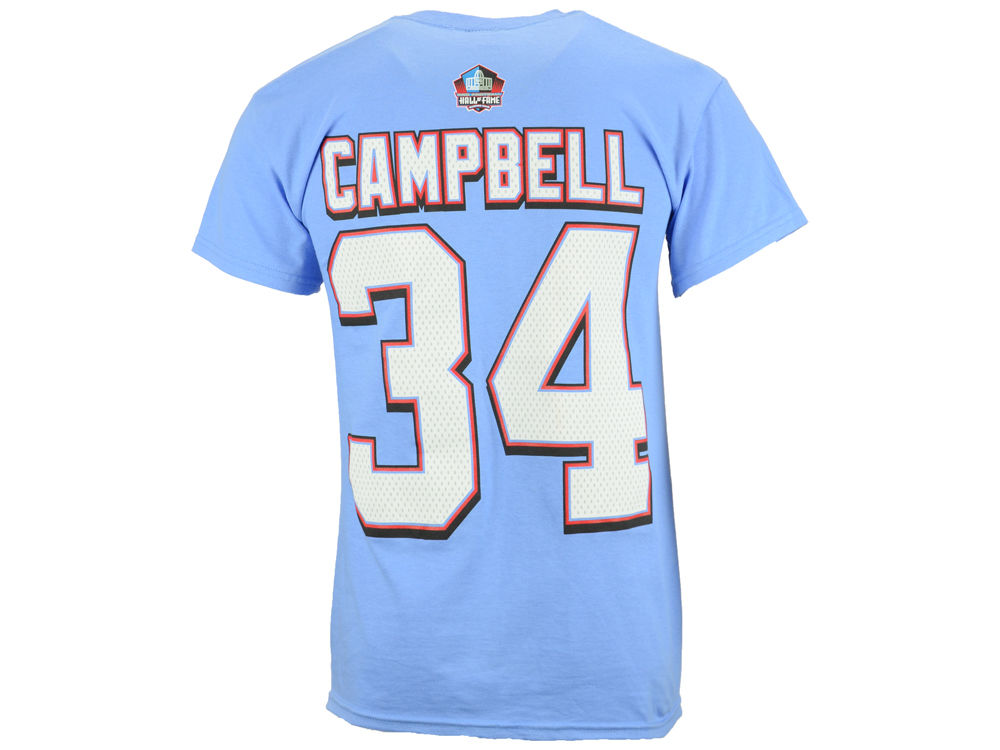 Houston Oilers Earl Campbell NFL Men s Hall Of Fame Eligible Receiver II T- Shirt  d7010abbd