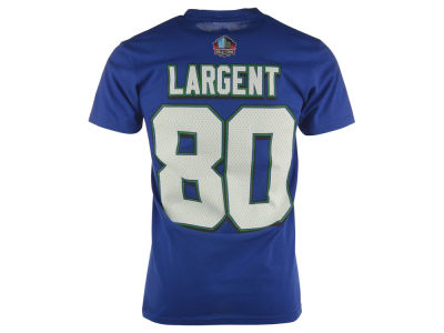 Seattle Seahawks Steve Largent NFL Men's Hall Of Fame Eligible Receiver II T-Shirt