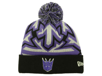 Decepticon Transformers Glow Zoom Pom Knit