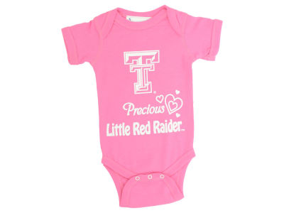 Texas Tech Red Raiders NCAA Newborn Precious Little Onsie