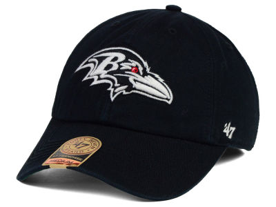Baltimore Ravens '47 NFL Black White '47 FRANCHISE Cap