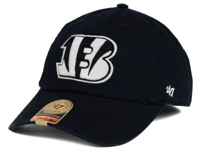 Cincinnati Bengals '47 NFL Black White '47 FRANCHISE Cap