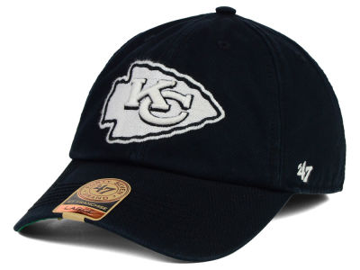 Kansas City Chiefs '47 NFL Black White '47 FRANCHISE Cap