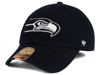 Seattle Seahawks '47 NFL Black White '47 FRANCHISE Cap