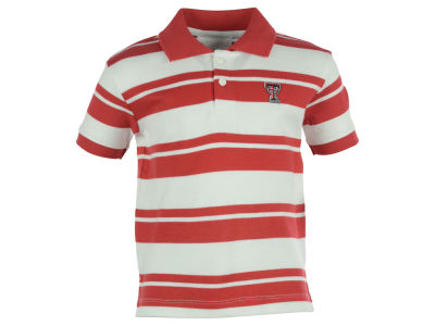 Texas Tech Red Raiders Atlanta Hosiery NCAA Toddler Rugby Golf Polo Shirt