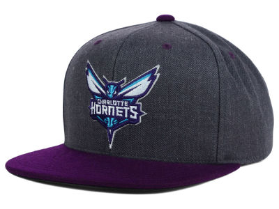 Charlotte Hornets Mitchell and Ness NBA 2014 Crown Snapback Cap