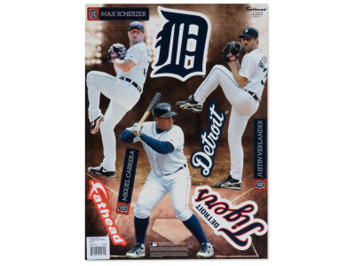 Detroit Tigers Fathead Teammate Team Pack