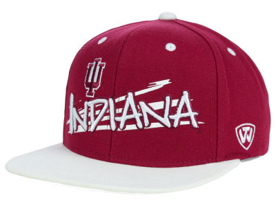 Indiana Hoosiers Top of the World NCAA Youth Hot Streak Snapback Cap