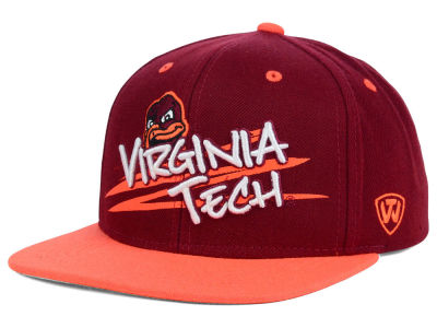 Virginia Tech Hokies Top of the World NCAA Youth Hot Streak Snapback Cap