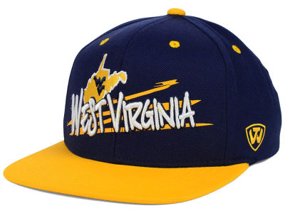 West Virginia Mountaineers Top of the World NCAA Youth Hot Streak Snapback Cap